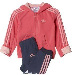 ΦΟΡΜΑ ADIDAS PERFORMANCE FUN POLAR JOGGER ΡΟΖ/ΜΠΛΕ (92 CM)