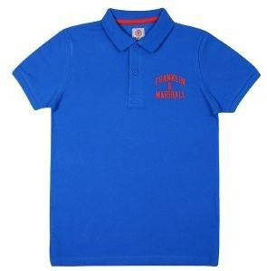 T-SHIRT POLO FRANKLIN & MARSHALL FMS0091-00213 ΜΠΛΕ (104ΕΚ.)-(3-4 ΕΤΩΝ)