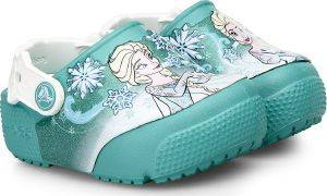 ΠΑΙΔΙΚΗ ΣΑΓΙΟΝΑΡΑ CROCS FUNLAB FROZEN LIGHT CLOGS K TROPICAL TEAL