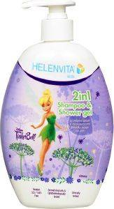ΣΑΜΠΟΥΑΝ-ΑΦΡΟΛΟΥΤΡΟ HELENVITA KIDS 2 IN 1 SHAMPOO & SHOWER GEL TINKERBELL 500ML [5213000524017]