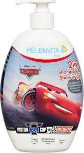 ΣΑΜΠΟΥΑΝ-ΑΦΡΟΛΟΥΤΡΟ HELENVITA KIDS 2 IN 1 SHAMPOO & SHOWER GEL CARS 500ML [5213000524055]