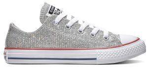 ΠΑΠΟΥΤΣΙ CONVERSE CHUCK TAYLOR ALL STAR OX 663627C ΑΣΗΜΙ