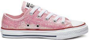 ΠΑΠΟΥΤΣΙ CONVERSE CHUCK TAYLOR ALL STAR OX 663628C ΡΟΖ