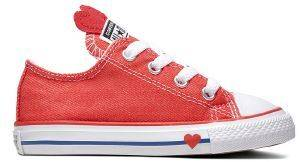 ΠΑΠΟΥΤΣΙ CONVERSE CHUCK TAYLOR ALL STAR OX 763568C ΚΟΚΚΙΝΟ