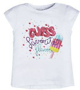 T-SHIRT GUESS KIDS K92I19 K82J0 ΛΕΥΚΟ