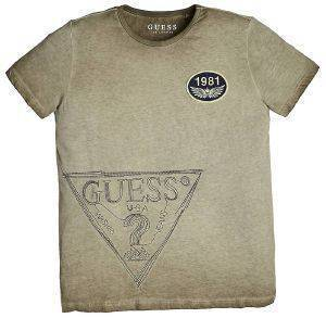 T-SHIRT GUESS KIDS L92I11 K82C0 ΜΠΕΖ (135ΕΚ.)-(7-8 ΕΤΩΝ)