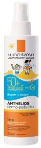 ΑΝΤΙΗΛΙΑΚΟ ΣΠΡΕΥ LA ROCHE-POSAY ANTHELIOS DERMO-PEDIATRICS SPRAY SPF50+ 200ML