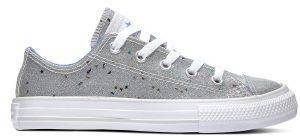 ΠΑΠΟΥΤΣΙ CONVERSE CHUCK TAYLOR ALL STAR OX 665107C ΑΣΗΜΙ