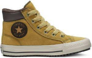 ΜΠΟΤΑΚΙ CONVERSE ALL STAR CTAS PC BOOT HI WHEAT/PALE 665163C ΚΑΣΤΟΡΙ ΚΑΦΕ