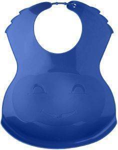 ΣΑΛΙΑΡΑ THERMOBABY PLASTIC BIB ASSORTED THER ΜΠΛΕ