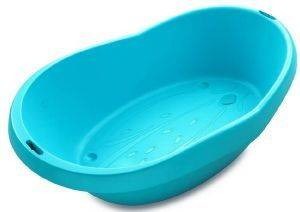 ΜΠΑΝΑΚΙ BEBE ANGEL ERGONOMIC BATH TUBE TURQUOISE-ΤΙΡΚΟΥΑΖ